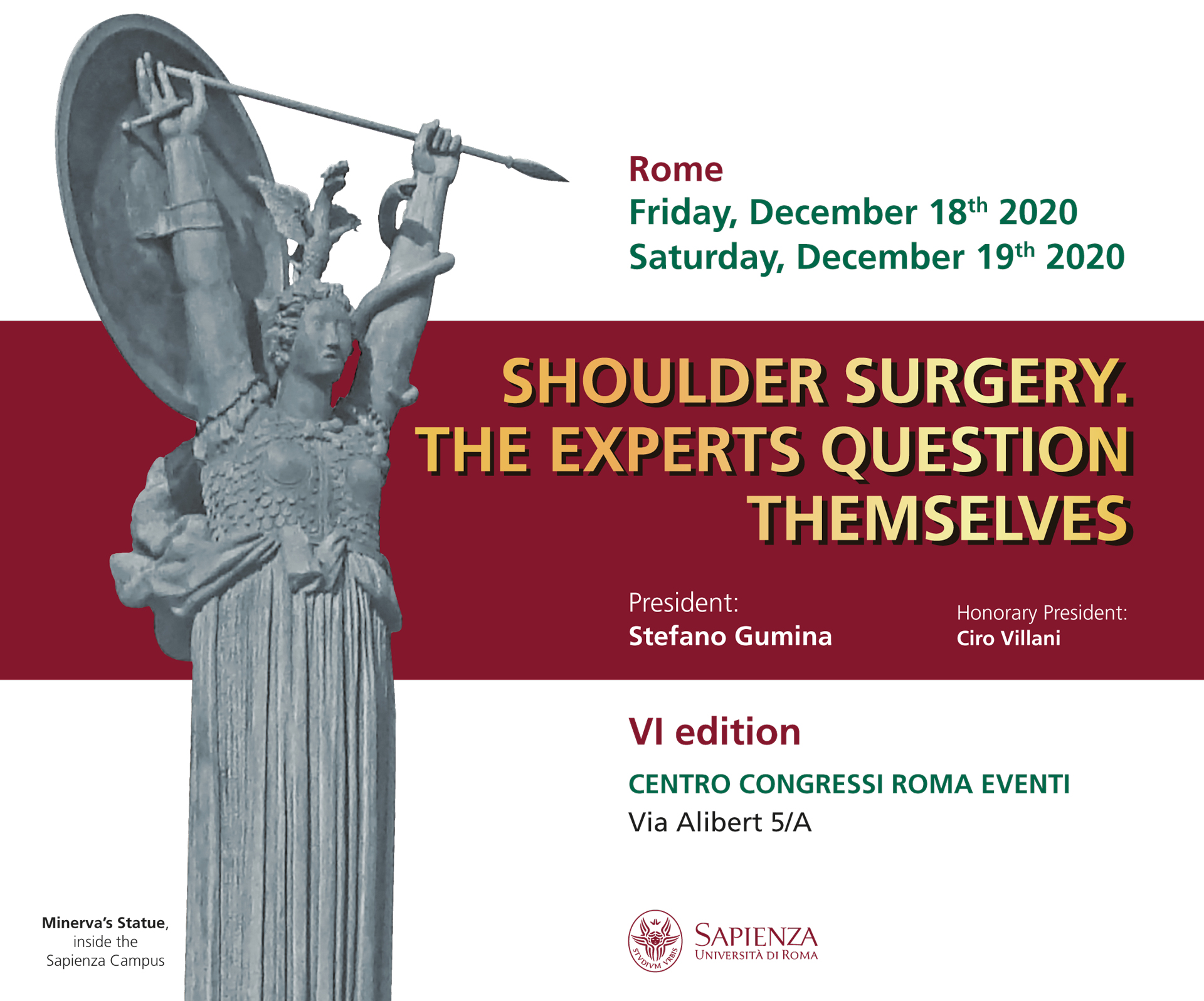 SHOULDER SURGERY. THE EXPERTS QUESTION THEMSELVES. VI ed.